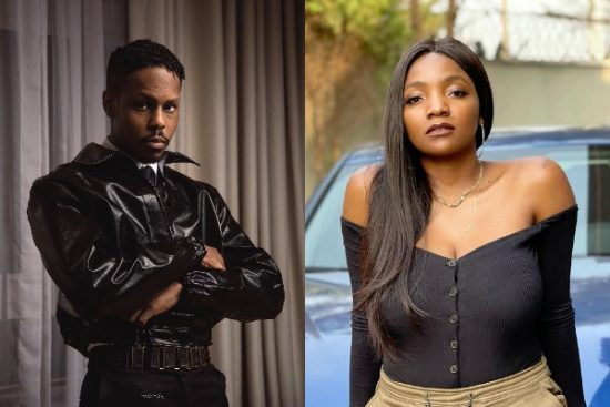 #14thHeadies: Ladipoe reacts after being called out for not thanking Simi while on stage