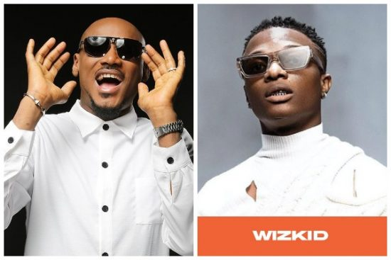 #14thHeadies: Real recognzie Real as Wizkid prostrates for 2baba.
