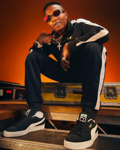 """""""I am making food 4 your soul""""- Wizkid reveals to fans"""