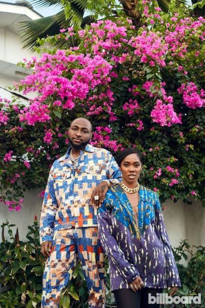 Davido, Tiwa Savage nominated for 2021 NAACP Image Award