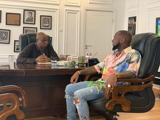 Davido reveals what his father used to do before becoming a billionaire