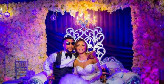 Fans react to Oritse Femi and his Wife's marriage drama