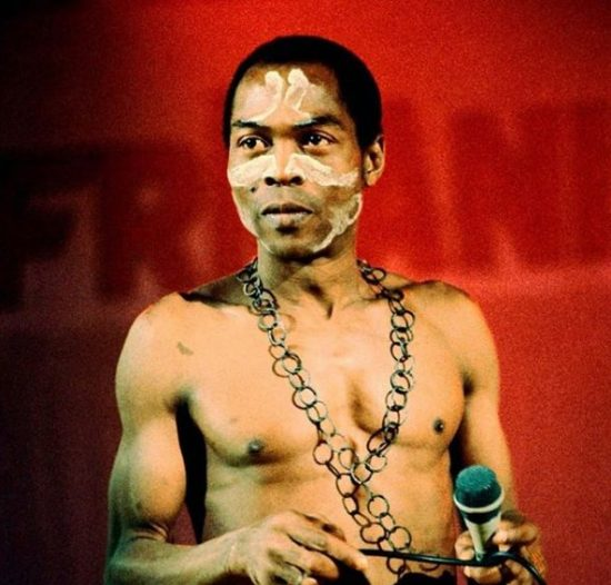Fela Kuti nominated for the 2021 Rock and Roll Hall of Fame