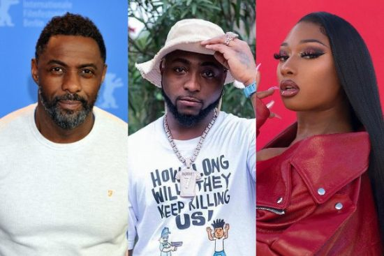 Idris Elba reveals forthcoming collaboration with Davido and Megan Thee Stallion