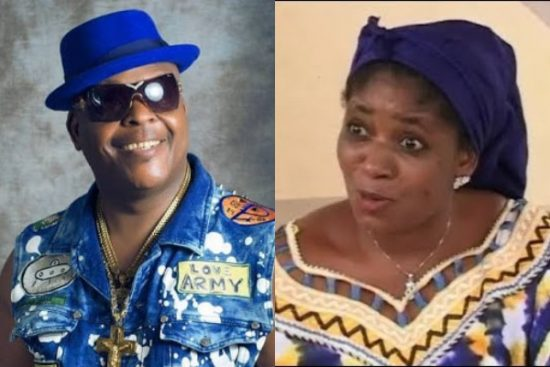 Sir Shina Peters reacts after being called out for abandoning the child he had with Late Funmi Martins