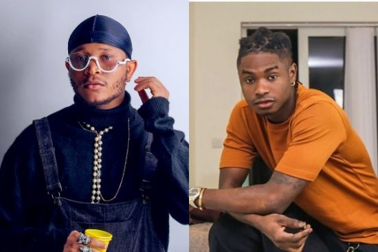 Viktoh reacts after being mocked that rapper Lil Kesh is bigger than him