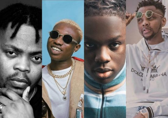 Top Nigerian collaborations in the month of January