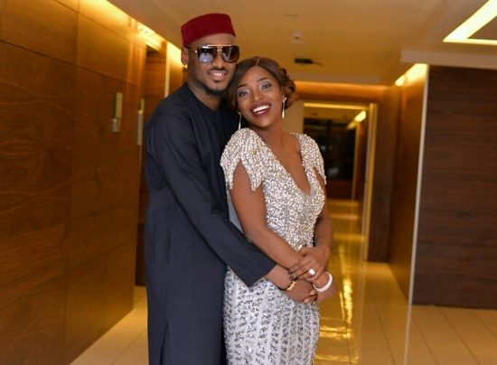 2Baba records a romantic song for his wife, Annie Idibia