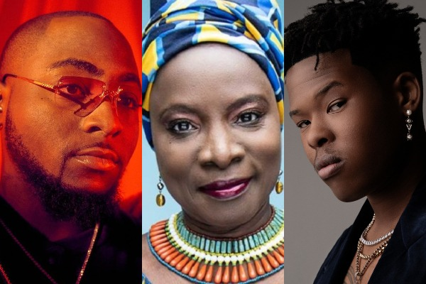 African Renowned Artistes with Global Deals