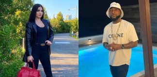 American Pop singer Enisa finally meets Afrobeat star Davido