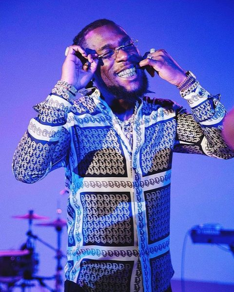Burna Boy brags about how he inspired his future kids with his Grammy win