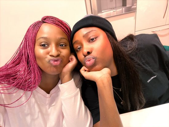 DJ Cuppy appreciates her elder sister in a new post