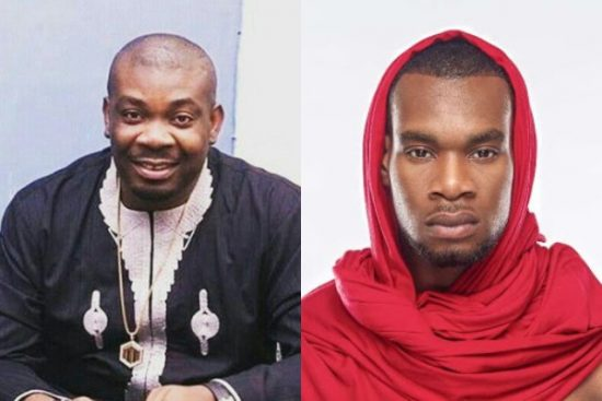 Don Jazzy reacts as fan compliments him and D Prince
