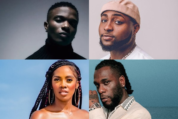 Nigerian artists with the most entries in Billboard WDSS