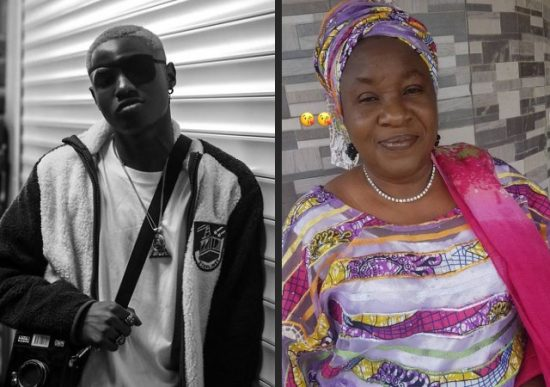 Singer, Ruger celebrates his mother on her birthday
