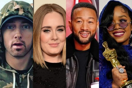 10 Artists who have won The Grammy and Oscar Awards