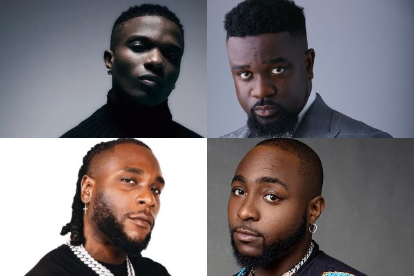 African artists with the most BET awards and nominations