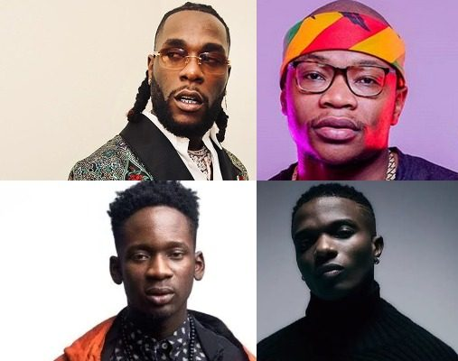African artists with the most monthly listeners on Spotify at the moment