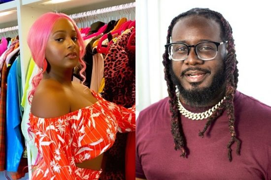 DJ Cuppy Reacts After T-Pain Explained Why He Ignored DMs from her and others