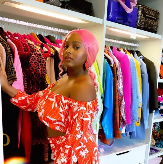 DJ Cuppy's mother reacts as she post sultry photos