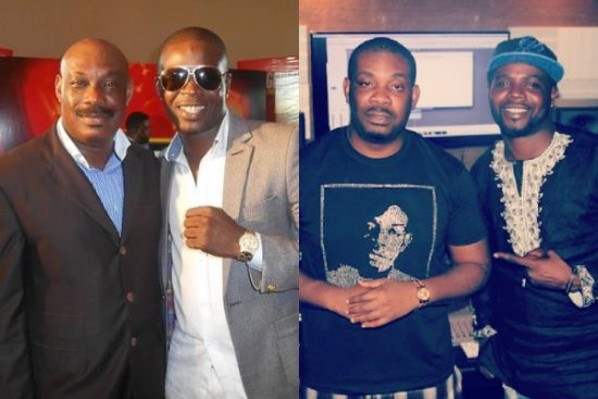 Don Jazzy's Father celebrates JJC, thanks him for his contribution to his son's success story