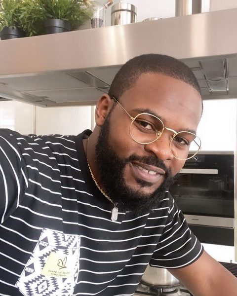 Falz gets tattoos of Parents and Sisters