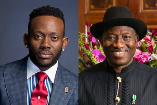 J Martins appeals to Ex-President Goodluck Jonathan to forgive Nigeria