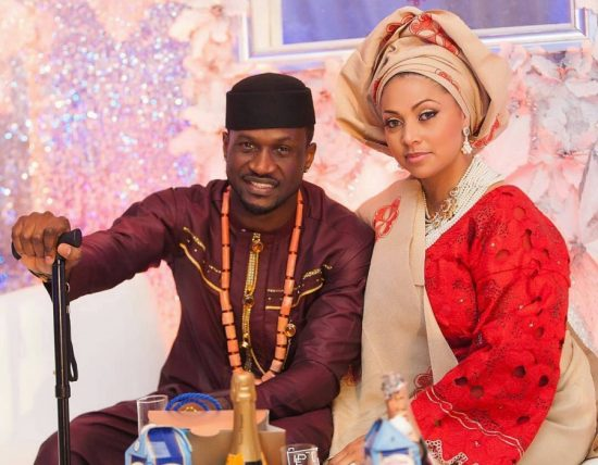 Mr. P shares the story of how he met his wife, Lola Omotayo