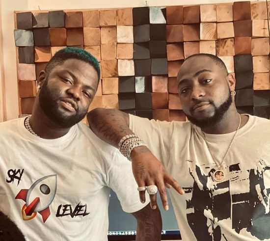 Skales and Davido link up for a collaboration