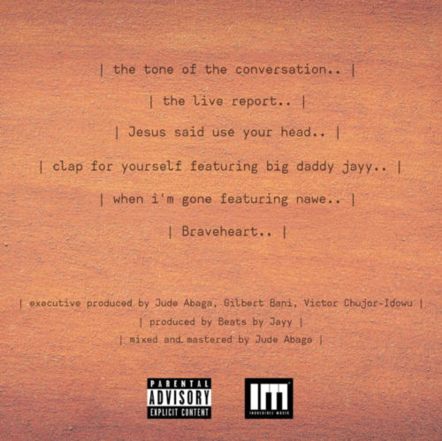 The Live Report Tracklist