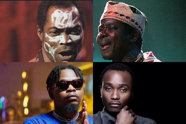 All-time Nigerian mainstream artists with the most projects
