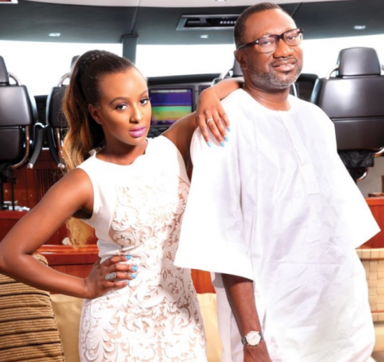DJ Cuppy thanks her father for providing her with a comfortable life