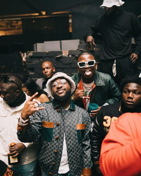 """Davido and Focalistic presented with Certification Plaque for """"Ke Star"""""""