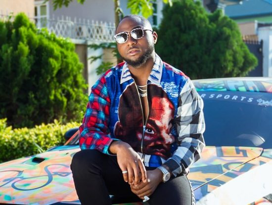 Davido flaunts his 1st newly Acquired Rolls Royce