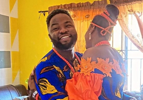 Skales ties knot with fiancée in Colourful Traditional Ceremony