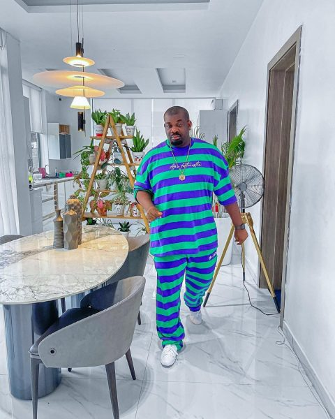 Don Jazzy reacts as fan thanks him for promoting her business