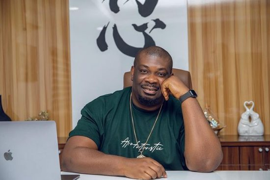 Don jazzy shares his new way of Tweeting