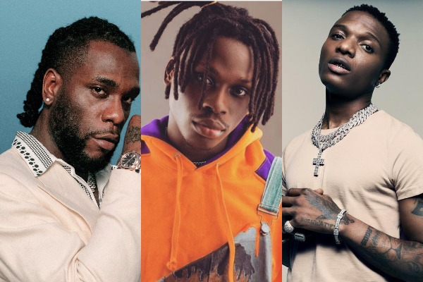Highest charting projects from last decade on Nigeria Apple music