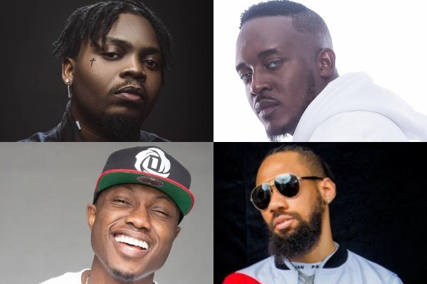 Rap artists of the decade in the Nigerian music industry