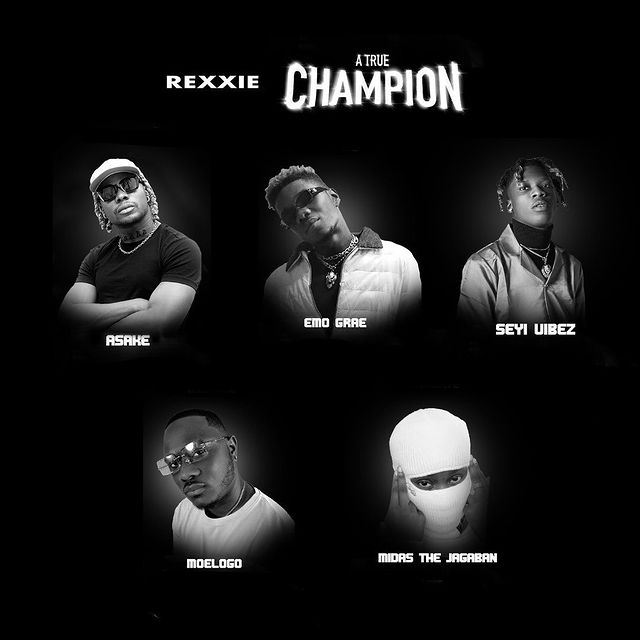 """Rexxie's """"A True Champion"""" most commercially released album?"""