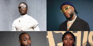 Afrobeat albums with the highest peak on Apple Music's global chart