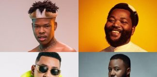 Apple music's top South African artists over the previous four years