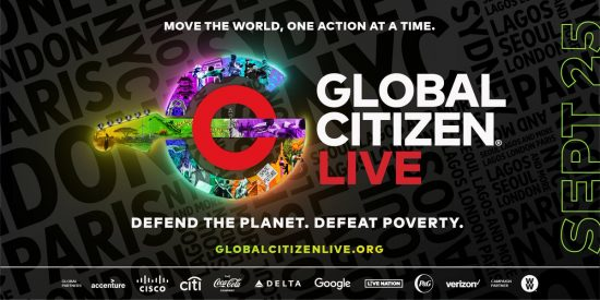 Burna Boy, Davido, others to perform at the Global Citizen Live event