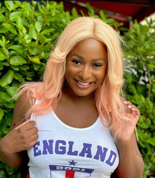 DJ Cuppy reacts as fan asks if she is pregnant