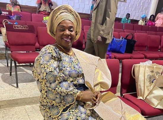D'banj celebrates his mother as she clocks a new age