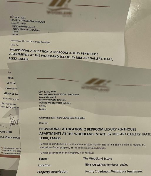 Kizz Daniel shares documents of the properties he purchased for his sons, Jelani and Jalil
