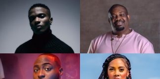On Spotify, these are the top ten most-streamed Nigerian record label songs.