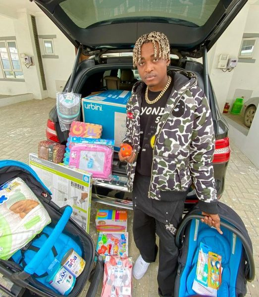 Rapper, Cheque reveals he is about to be father