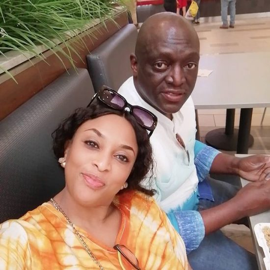 Sammie Okposo and his wife celebrate their 11th wedding anniversary