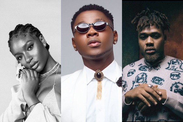 Ayra Starr, Kizz Daniel, Buju and others are among the top 10 on this week's turntable top 50 charts